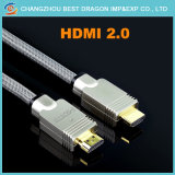 HDMI 2.0のファイバーのケーブルサポート1440p、3D、4K*2K、18gbps
