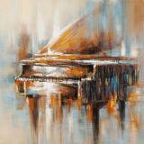 Abstrakte Klavier-Ölgemälde handgemacht auf Segeltuch für Wand-Dekor