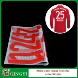 Etiqueta da transferência térmica para o t-shirt