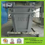 Spreco/rifiuti/rifiuti/polvere/salto/scomparto elevatore della catena con il portello
