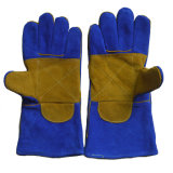 Перчатки Welder безопасности, Cow Split кожаный перчатка заварки