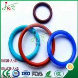 Borracha de silicone, borracha de FKM, vermelho, anéis-O verdes para a selagem