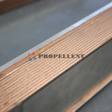 Alto cambiador de calor cubierto con bronce cobre de la placa de la eficacia del traspaso térmico