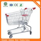 Carrinho de compras de quatro rodas de alta qualidade
