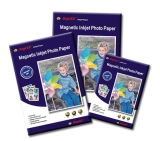 Papier photo magnétique à jet d'encre Matte A4