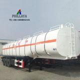 Veículo a gasolina de semi-cisterna líquido do tanque de armazenagem de Combustível Diesel