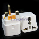 Universal / UK EU Us Au Socket with Fuse to UK Plug Adapter
