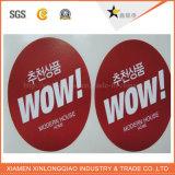 El papel de impresora impresa personalizada PVC pared automóvil la impresión de etiquetas etiqueta
