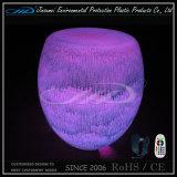 Muebles de LED con plástico de plástico Iluminado Cambio de color