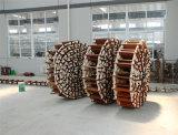 최상급 바다 Aluminum&Wooden 승선 밧줄 사다리