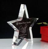 Высокое качество свободно подгоняло трофей пожалования Crysatl логосов конструкции стеклянный