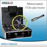 Appareil-photo visuel d'inspection de pipe avec le câble de 20m