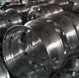 10 صقل فتحة بئر [دووبل] [ألومينوم لّوي] يشكّل شاحنة عجلة ([22.5إكس13.0])