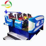 6개의 호화스러운 시트 9d Vr 트럭 이동할 수 있는 9d 영화관 사치품 6 시트 움직임 의자
