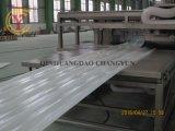 Plástico reforzado con fibra de fibra de vidrio Línea de producción de la bobina plana
