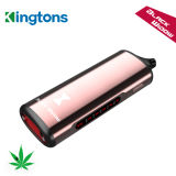 El vaporizador Kingtons Singapur Buen Precio negro de la ventana de hierba seca vaporizador Best Seller en EE.UU.