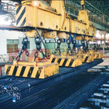 Поднимаясь магнит для регулировать материал в сталелитейном заводе