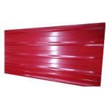 Couleur RAL galvanisé recouvert de tôle de toit