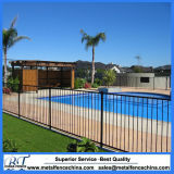 Flache Oberseite-Aluminiumgarten-Swimmingpool-Zaun-Panels