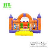 子供のためのおとぎ話様式の城の膨脹可能な警備員