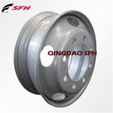 Borde y rueda de acero sin tubo (22.5X7.50) de la rueda