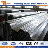Sistema de revestimento de piso piso de aço para a construção das estruturas de aço