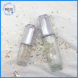 Embalagem de cosméticos limpar frascos de loção de vidro vazia