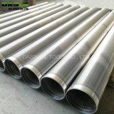 Alambre de acero inoxidable 304 de la pantalla del filtro de aceite del tubo envuelto