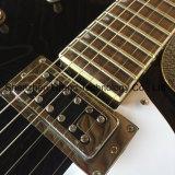Double-F-Trou de Jazz de corps creux, guitare électrique avec système de trémolo en noir (TJ-289)