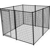 Tube carré à revêtement poudré Outdoor Pet Safe House Cage chien