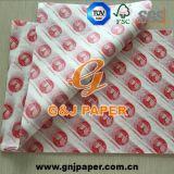 papel translúcido impresso OEM de Pakcing do produto comestível 17-23GSM para a venda