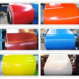A cor vermelha PPGI, cor da bobina de aço com bobinas galvanizadas