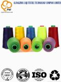 Hilo de coser 100% del poliester de la cuerda de rosca del Closing del bolso del poliester para la ropa