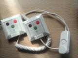 Bouton d'appel patient pour l'équipement sans fil de service des urgences