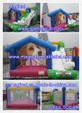 Jumping Moonwalk Combo com Slide Bounce House Bouncy Castle Inflatable Bouncer (MCA-46)