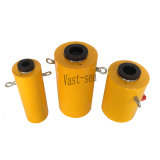 100t de capacidade elevada de êmbolo oco do cilindro hidráulico de ação simples