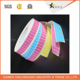 Particulièrement cadeau empaquetant le collant thermique estampé de papier de code barres de service d'impression d'étiquette