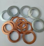 平らな銅のクラッシュの洗濯機の傷のガスケット