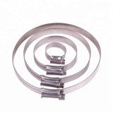 Le collier de flexible de type britannique en acier galvanisé - collier de flexible fabricant