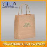 Sac imprimé de papier de Brown emballage (BLF-PB095)