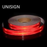 El cubrir reflexivo prismático de intensidad alta del color rojo