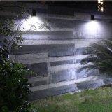 LED blanco de pared de luz solar la energía verde