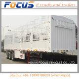 De Semi Aanhangwagen van de Omheining van de staak voor de Lading van de Container of van de Lading stortgoed