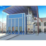 Grande cabine de peinture de matériel automatique industriel d'enduit