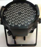 luz de la IGUALDAD de la colada LED de la pared del poder más elevado LED de 72PCS*3W 3in1