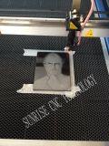 Máquina de estaca do laser para a gravura acrílica do PVC do cartão do MDF da madeira