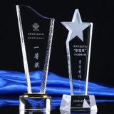 Trophée du nouveau modèle Crystal Award avec logo personnalisé