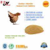 Vee, het Gebruik van de Kip en het Chloride van de Choline van het Type van Dierenvoer