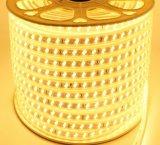 2835 de 220V de la línea de doble lámina flexible de LED de alto brillo