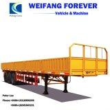 半3axles側面または側面の低下または側板またはバルク貨物トラックのトレーラー